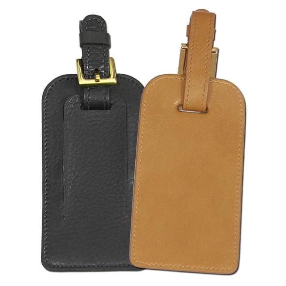 Leather Luggage Tag - Image 2