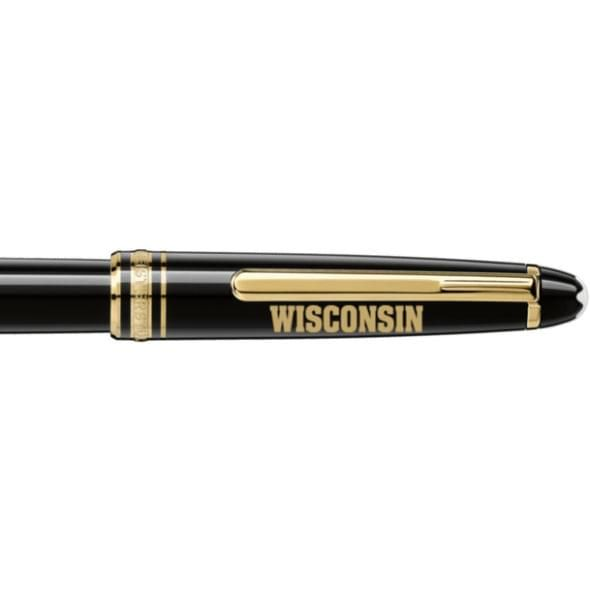Wisconsin Montblanc Meisterstück Classique Rollerball Pen in Gold - Image 2