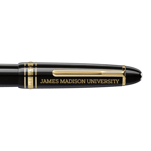 James Madison University Montblanc Meisterstück LeGrand Rollerball Pen in Gold - Image 2