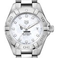 Chicago Booth Women's TAG Heuer Steel Aquaracer with MOP Diamond Dial - Image 1