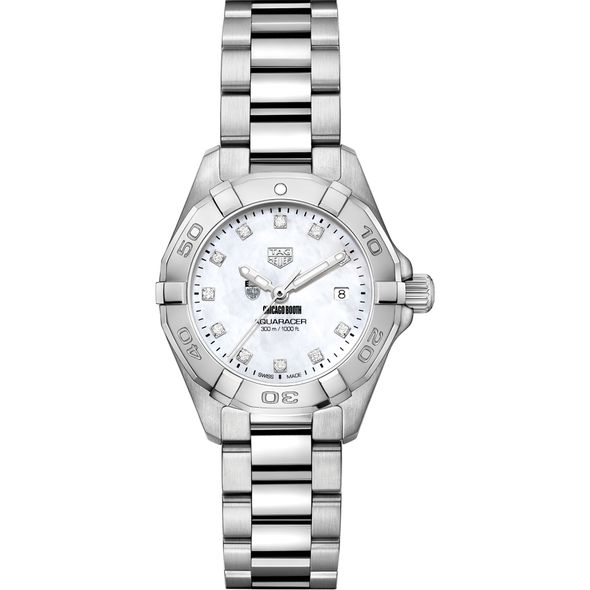 Chicago Booth Women's TAG Heuer Steel Aquaracer with MOP Diamond Dial - Image 2