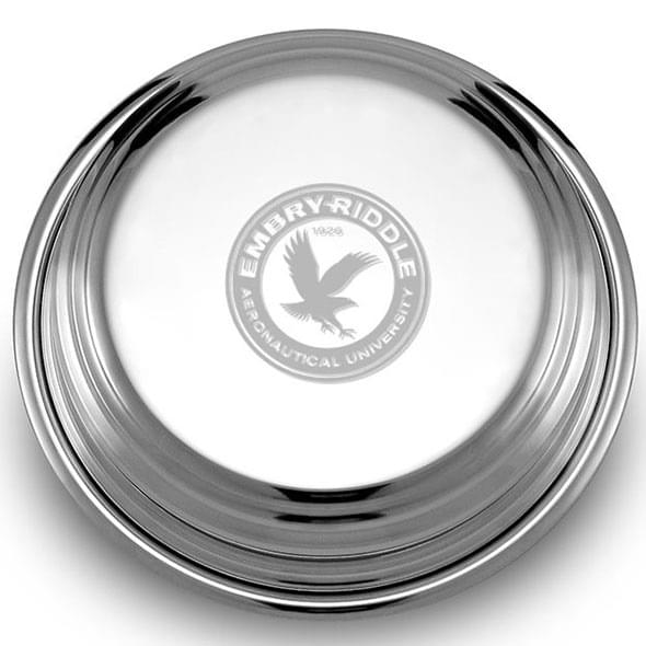 Embry-Riddle Pewter Paperweight - Image 2