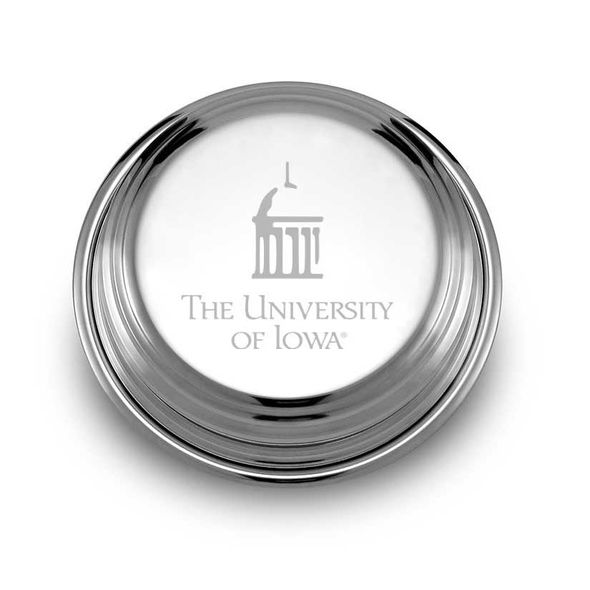University of Iowa Pewter Paperweight