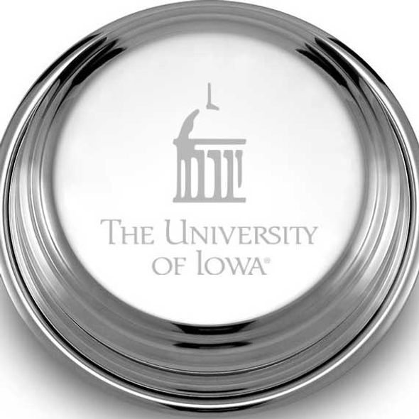 University of Iowa Pewter Paperweight - Image 2