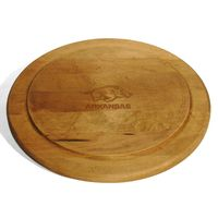 University of Arkansas Round Bread Server