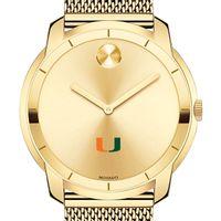 University of Miami Men's Movado Gold Bold 44
