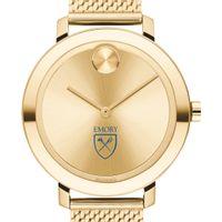 Emory Women's Movado Bold Gold with Mesh Bracelet