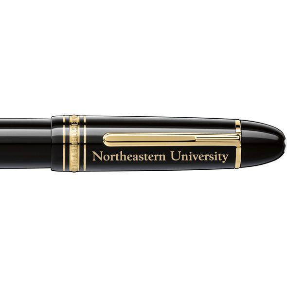 Northeastern Montblanc Meisterstück 149 Fountain Pen in Gold - Image 2