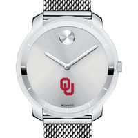 University of Oklahoma Women's Movado Stainless Bold 36
