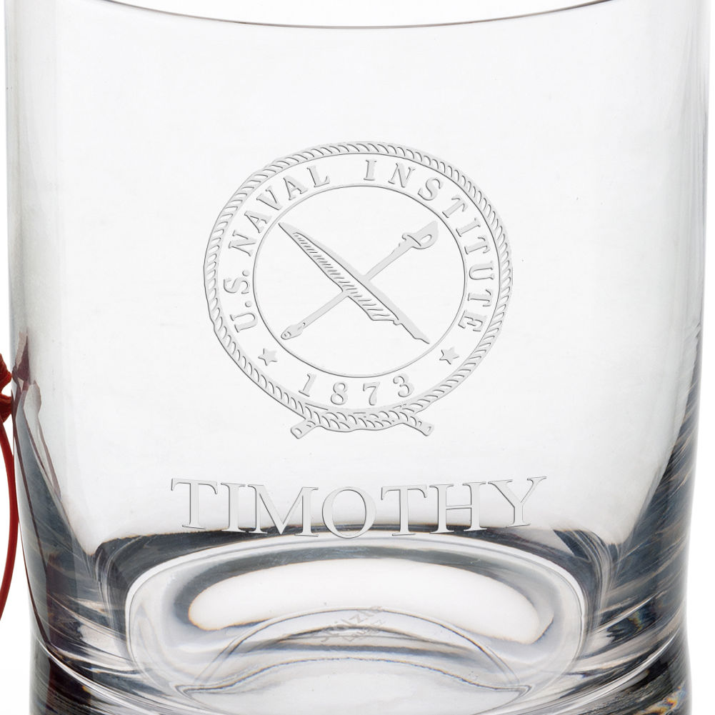 U.S. Naval Institute Tumbler Glasses - Set of 4 - Image 3