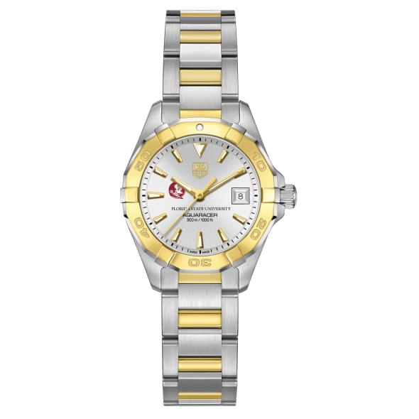 Florida State Women's TAG Heuer Two-Tone Aquaracer - Image 2