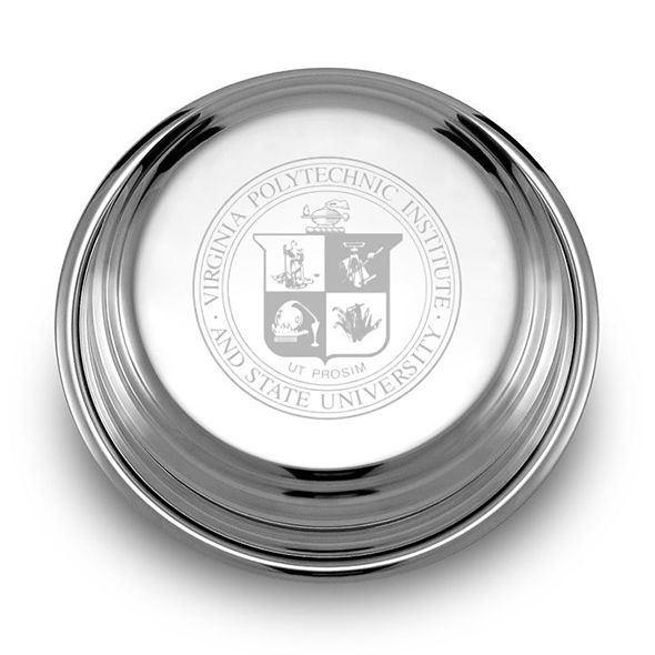 Virginia Tech Pewter Paperweight
