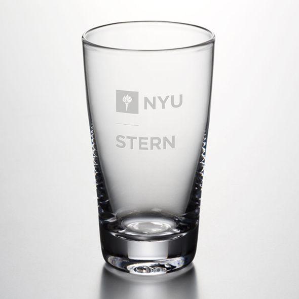 NYU Stern Ascutney Pint Glass by Simon Pearce
