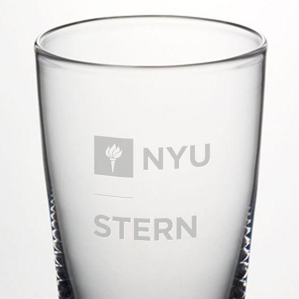 NYU Stern Ascutney Pint Glass by Simon Pearce - Image 2