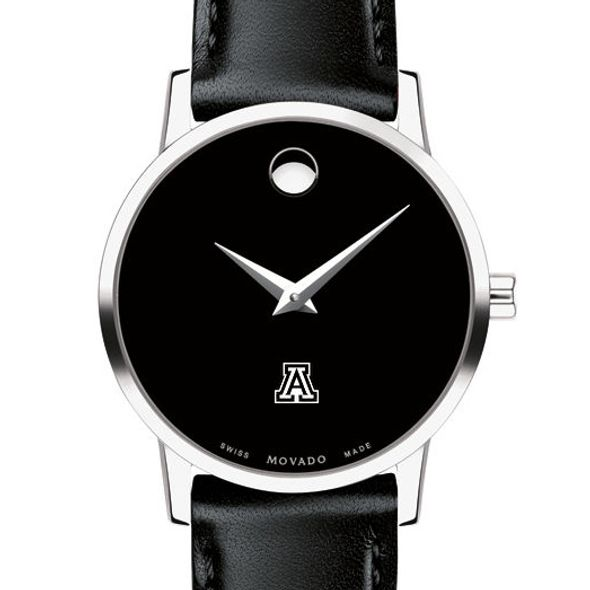 University of Arizona Women's Movado Museum with Leather Strap