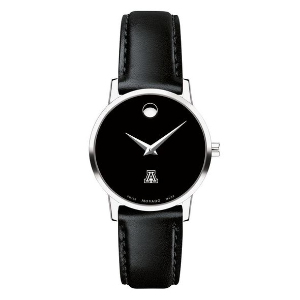 University of Arizona Women's Movado Museum with Leather Strap - Image 2