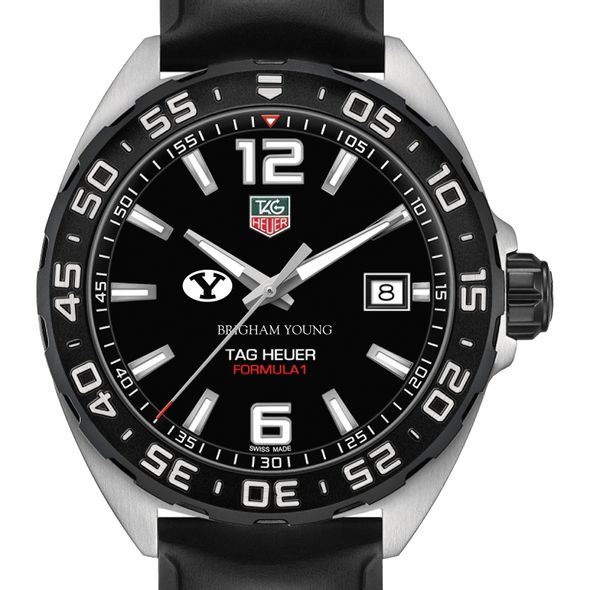 Brigham Young University Men's TAG Heuer Formula 1 with Black Dial