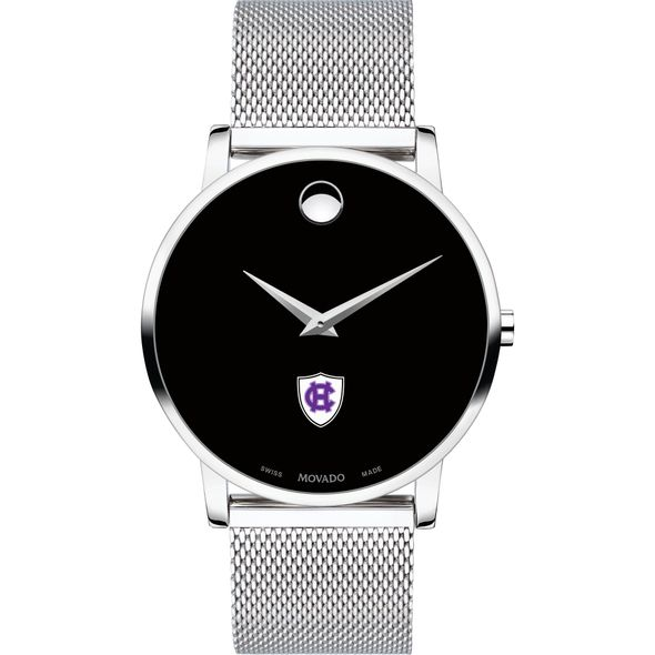 Holy Cross Men's Movado Museum with Mesh Bracelet - Image 2