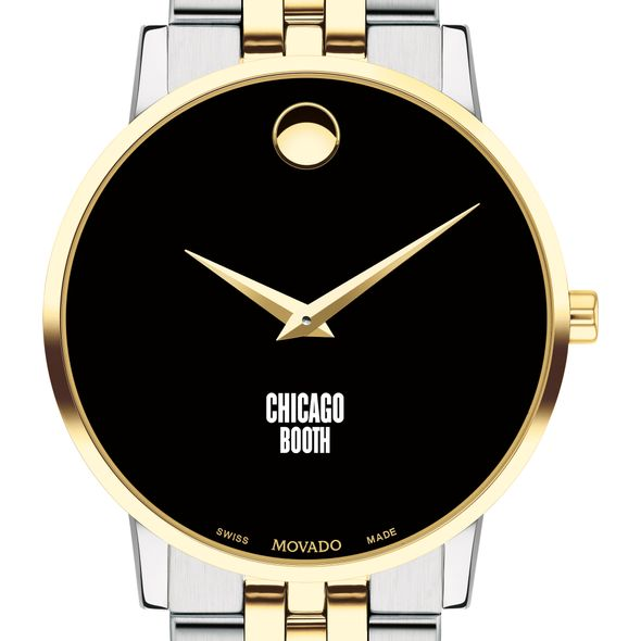 Chicago Booth Men's Movado Two-Tone Museum Classic Bracelet