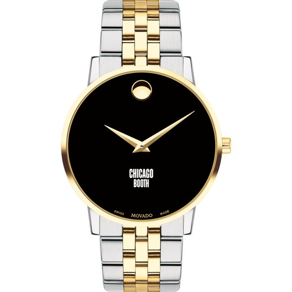 Chicago Booth Men's Movado Two-Tone Museum Classic Bracelet - Image 2