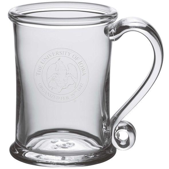 University of Iowa Glass Tankard by Simon Pearce