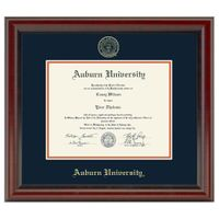 Auburn Diploma Frame, the Fidelitas
