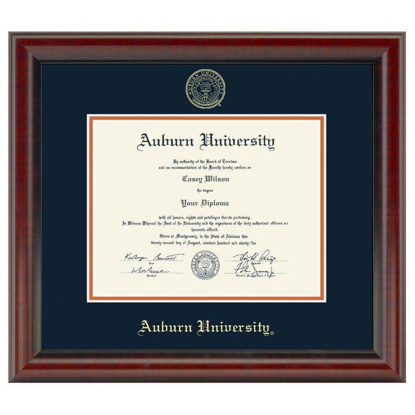 Auburn Diploma Frame, the Fidelitas - Image 1