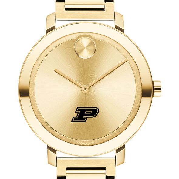 Purdue University Women's Movado Gold Bold 34