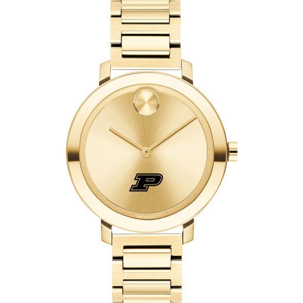 Purdue University Women's Movado Gold Bold 34 - Image 2