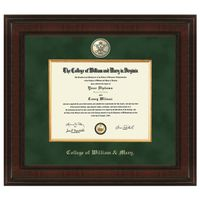 William & Mary Diploma Frame - Excelsior
