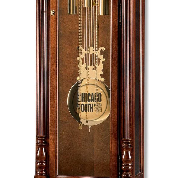 Chicago Booth Howard Miller Grandfather Clock - Image 2