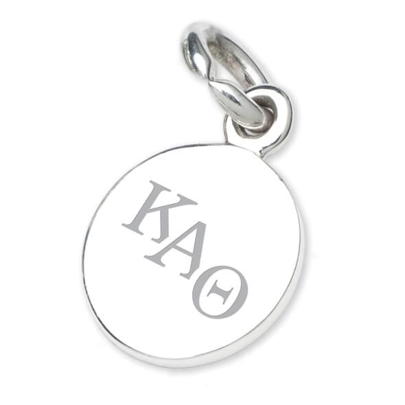 Kappa Alpha Theta Sterling Silver Charm - Image 2