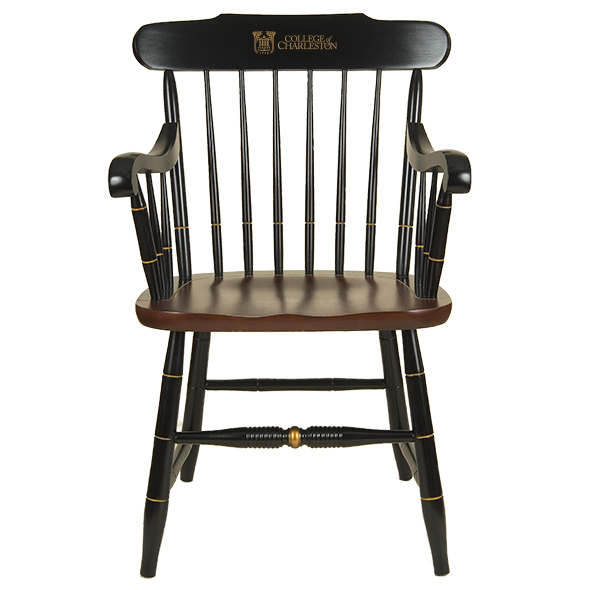 College of Charleston Captain's Chair by Hitchcock