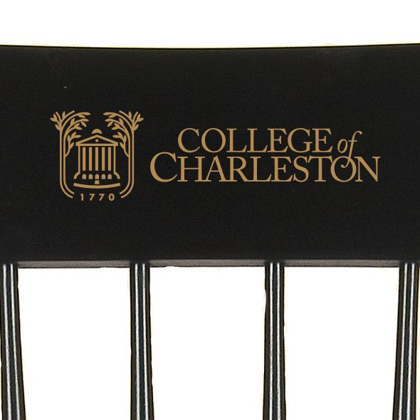 College of Charleston Captain's Chair by Hitchcock - Image 2