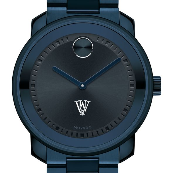 Washington University in St. Louis Men's Movado BOLD Blue Ion with Bracelet