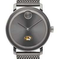 University of Missouri Men's Movado BOLD Gunmetal Grey with Mesh Bracelet