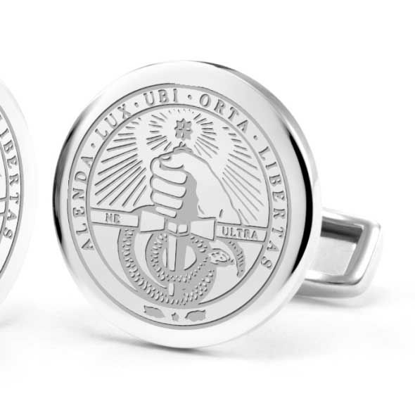 Davidson College Cufflinks in Sterling Silver - Image 2