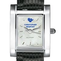 Christopher Newport University Women's MOP Quad with Leather Strap