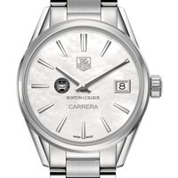 Boston College Women's TAG Heuer Steel Carrera with MOP Dial