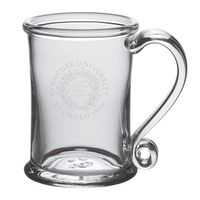 Syracuse University Glass Tankard by Simon Pearce