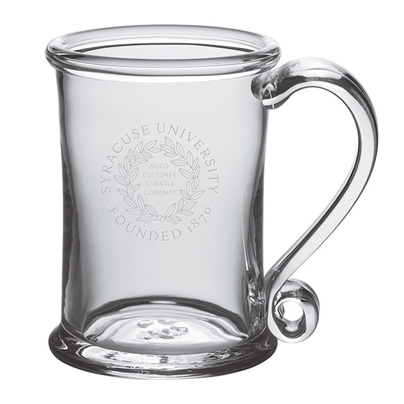 Syracuse University Glass Tankard by Simon Pearce - Image 1