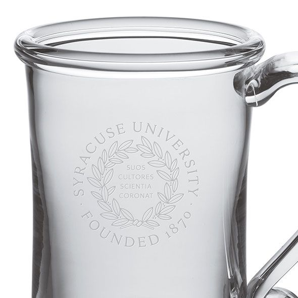 Syracuse University Glass Tankard by Simon Pearce - Image 2