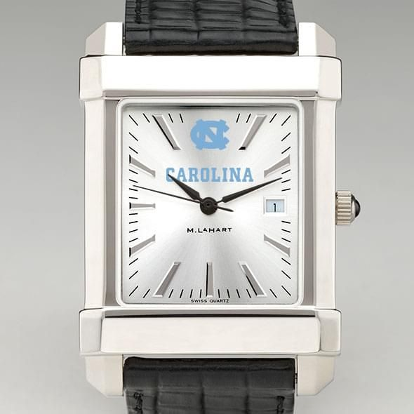 North Carolina Men's Collegiate Watch with Leather Strap