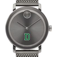 Dartmouth College Men's Movado BOLD Gunmetal Grey with Mesh Bracelet