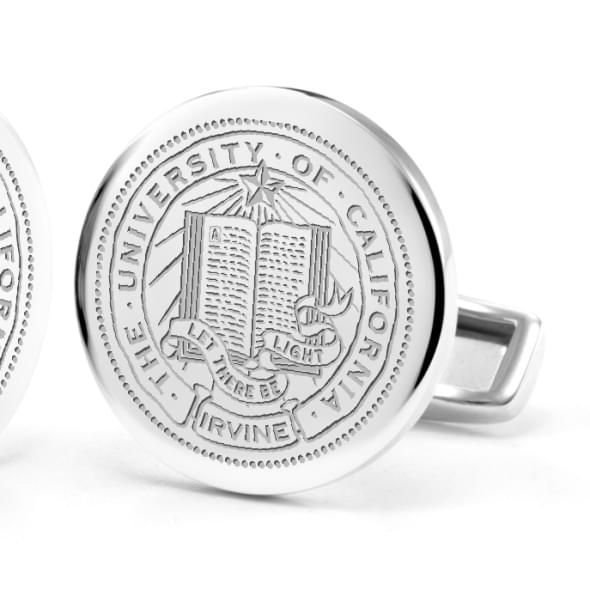University of California, Irvine Sterling Silver Cufflinks - Image 2
