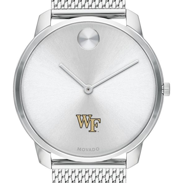 Wake Forest University Men's Movado Stainless Bold 42 - Image 1