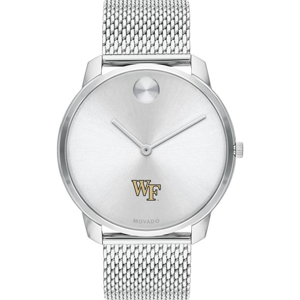 Wake Forest University Men's Movado Stainless Bold 42 - Image 2