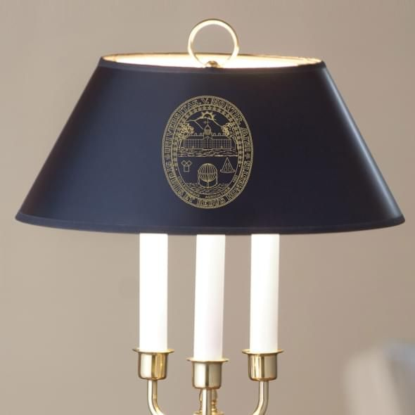 University of Vermont Lamp in Brass & Marble - Image 2
