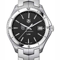 Oklahoma TAG Heuer Men's Link Watch with Black Dial