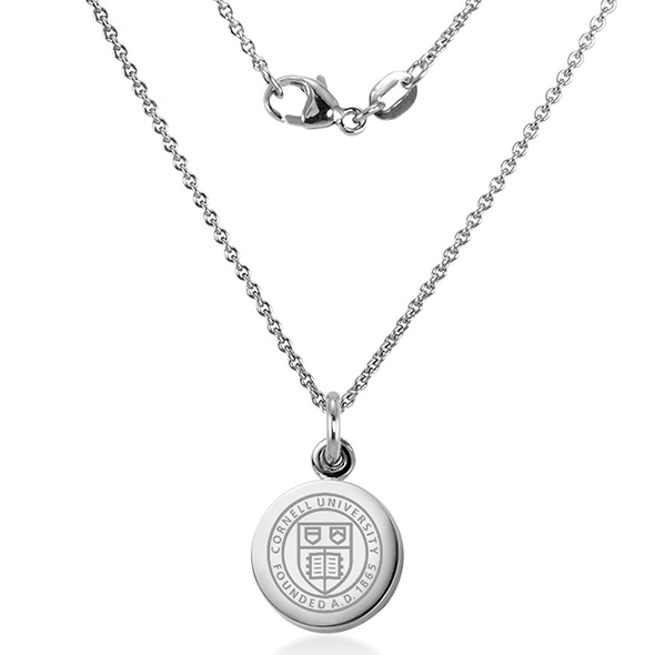 Cornell University Necklace with Charm in Sterling Silver - Image 2